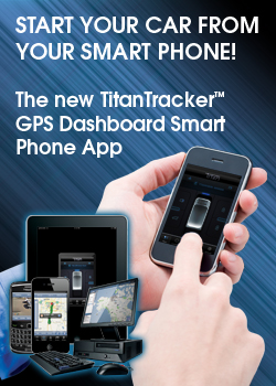 TitanTracker GPS Dashboard Smart Phone App